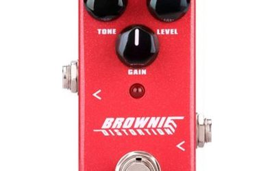 NU-X Mini Core Series Brownie Distortion Effects Pedal