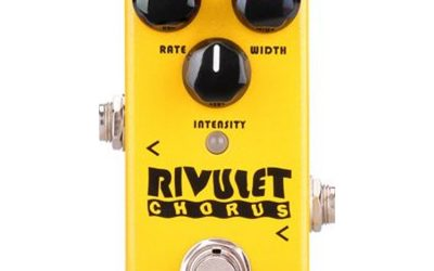 NU-X Mini Core Series Rivulet Chorus Effects Pedal
